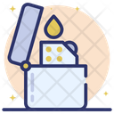 Lighter Ignite Flame Fire Starter Icon