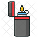 Lighter Ignite A Flame Creating Flame Icon