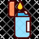 Lighter Smoking Vaping Icon