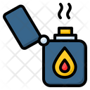 Gas Lighter Fire Flame Icon