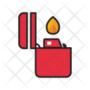 Fire Lighter Smoking Icon