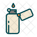 Lighter Camping Outdoor Icon