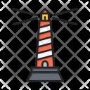 Lighthouse Navigation Location Icon