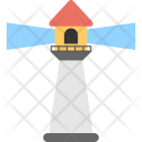 Lighthouse Searchlight Tower Icon