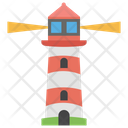 Lighthouse Light Tower Travel Guide Icon