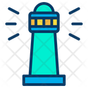 Sea Signal Signal Light Building Icon