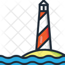 Lighthouse Sea Light Icon