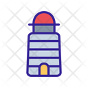Lighthouse Beacon Seamark Icon