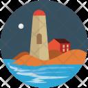 Lighthouse Monument Landmark Icon