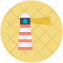 Lighthouse House Tower Icon