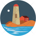 Lighthouse Building Seaside Icon