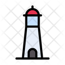 Tower Light Building Icon