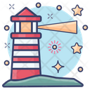 Lighthouse Watch Tower Lighthome Icon
