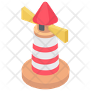 Lighthouse Searchlight Tower Tower House Icon