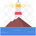 Lighthouse Light Water Icon
