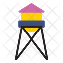Tower Building House Icon