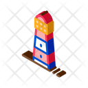 Lighthouse Silhouette Beacon Icon