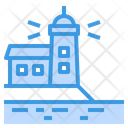 Lighthouse Signaling Warning Icon