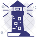 Guide Lighthouse Navigation Icon