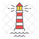 Lighthouse Navigation Building Icon