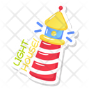 Lighthouse Lighthouse Tower Tower House Icon