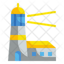 Lighthouse Signaling Guide Icon