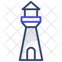 Lighthouse Watchtower Beacon Icon
