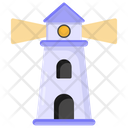 Watchtower Lighthouse Lightship Icon