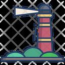 Lighthouse Beacon Sea Icon