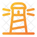 Lighthouse Building Location Icon