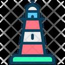 Lighthouse Beach Tower Icon