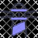 Lighthouse Light Tower Coast Icon