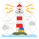 Lighthouse Tower Signaling Icon