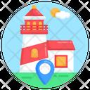 Lighthouse Location Icon