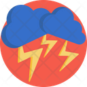Lightining Climate Clouds Icon
