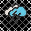Lightning Thunder Cloud Icon