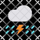 Lightning Cloud Thunder Icon