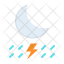 Lightning Night Thunder Icon
