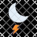 Lightning Night Moon Icon