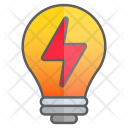 Lightning Idea Intelligence Icon