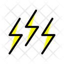Weather Lightning Sky Icon