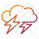 Lightning Storm Thunder Icon