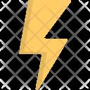 Thunderbolt Lightning Bolt Icon