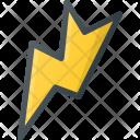 Lightning Flash Storm Icon