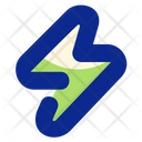 Lightning Bolt Energy Icon