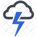 Lightning Storm Thunderstorm Icon
