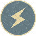 Lightning Button Icon