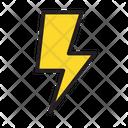 Cloud Electric Lightning Icon