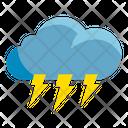 Weather Lightning Thunder Icon