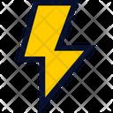 Lightning Thunder Bolt Icon